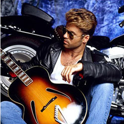 george michael features
